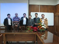 Click to view album: Thesis Defence